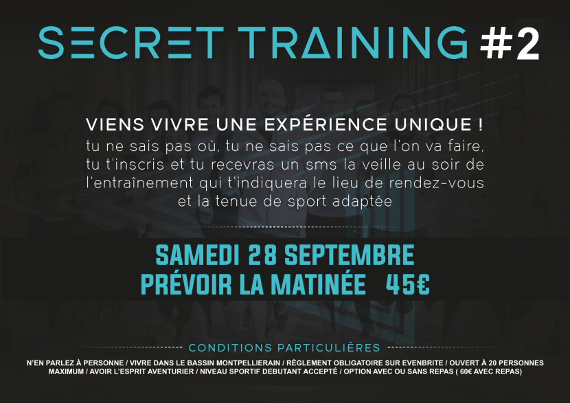 Visuel A5_Secret Training 1